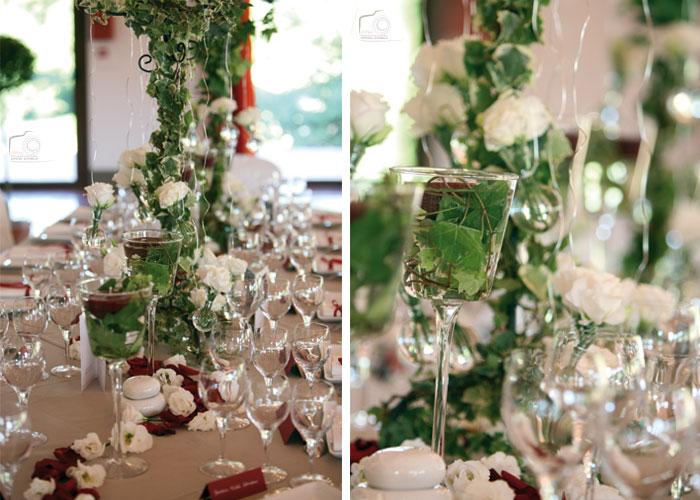 décoration-table-mariés-lierre