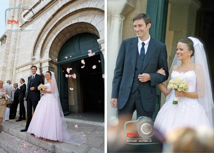 mariage église cassis