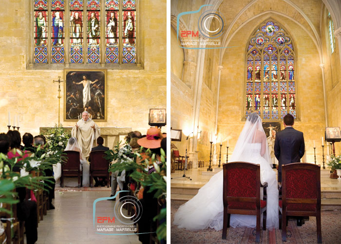 Mariage eglise saint jean de malte photographe marseille - Photographe mariage salon de provence ...