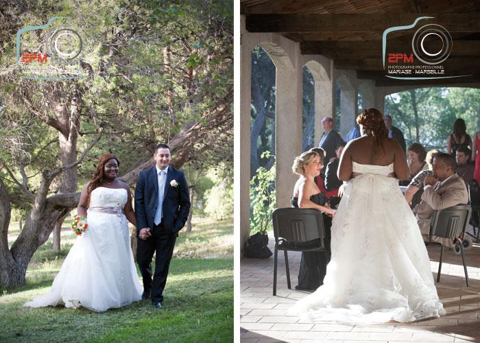 mariage domaine de roquerousse salon de provence